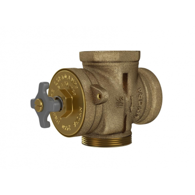 """Base p/ válvula Hydra Max, Clean e Pro 1.1/2"""" bronze bruto Deca"""